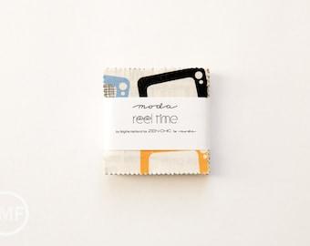 Reel Time Candy Pack, Mini Charm Pack, Brigitte Heitland, Zen Chic, Moda Fabrics, 1560MC