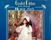 20%OFF Cache Junction Porcelain Doll Dress Pattern EVERY BRIDE Is Heaven Sent - Crochet Wedding Gown Clothes Clothing Pattern