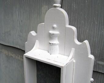 Rustic Decorative Reliquary Wall Display Box No. 16.6