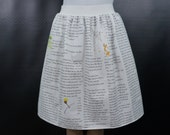 MULTIPLE COLORS - The Little Prince skirt - made to order
