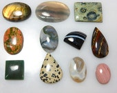 Mix Cabochon Gemston  Mix Lot 11Pc AAA Quality Wholesale Price