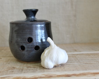 Slate Garlic Keeper