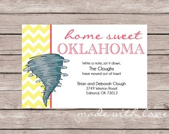 Home Sweet...Your State-Change of Address Card/Moving Announcement Card, 4x6