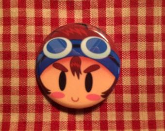 Taichi (Digimon Adventure) Button