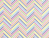 Dot Dot Dash by Me & My Sister Designs - Stripe In A Stripe - White - Moda 22266 20