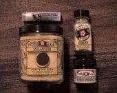 Moon Gift Set - MOONTIME collection - Bath Salts, Massage, Facial Mask + Lip Balm