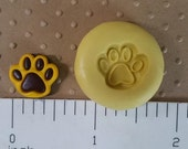 PAW MOLD flexible silicone paw mold for fondant chocolate  polymer clay dog patrol cake pops cold porcelain gumpaste candy clay pet treats