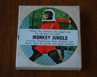 Monkey Jungle - 8mm tape - midcentury - kitsch