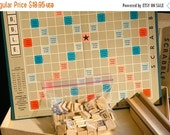 ON SALE Scrabble Game Set, Spear's Games 1954