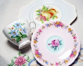 Luncheon Tea Set - Bridal Shower Vintage Mix & Match Serving China: Paragon and more