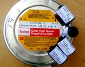 Eastman Color High Speed Negative Motion Picture Film - Five Rolls of 35mm