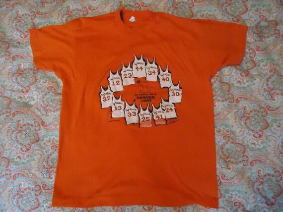 Ncaa syracuse orange basketball tshirt 1990 for Syracuse orange basketball t shirt