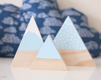 Wooden Mountains - Sky Blue