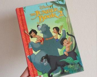The Jungle Book Notebook handmade from a Disney ladybird book