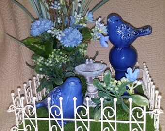 Bird Lovers this is for YOU - Decorative Bird Arrangement