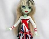 Monster High Fashion Brit Punk Light