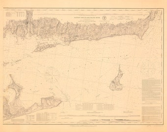 Eastern Part of Long Island Sound – 1878