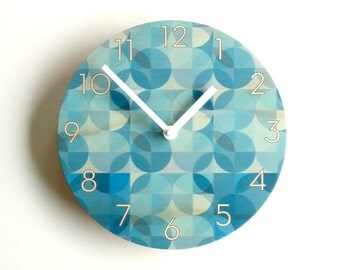 Objectify Blue Hue Wall Clock