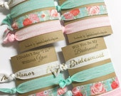 Will You be my Matron of Honor Card - Hair Tie Favors - Matron of Honor Gift - Matron of Honor Proposal - Matron of Honor Hair Tie Favors