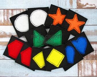 Shape Memory Game - Soft Felt - Preschool Children