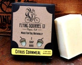 2-Pack Citrus Cornmeal Natural Soap - Item# CPS_CRNML_01