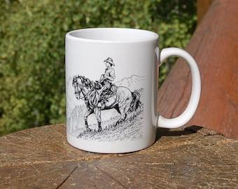 Jackson Hole Cowboy Mug