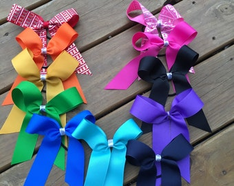 College size Cheer bows. You pick color!