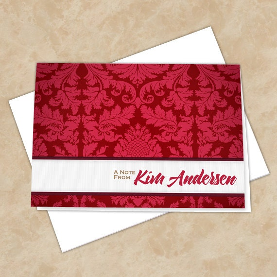 personalized notecards, thank you cards, thank you notes, graduation thank you cards, 4x6 notecards, teacher appreciation, NC129