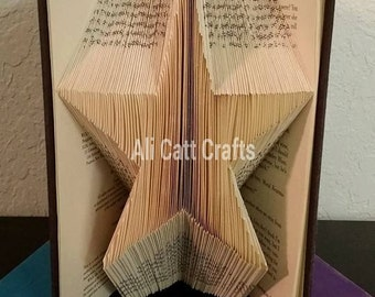 208 Star - Book Folding Pattern