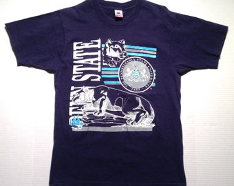 Late 80's, early 90's Penn State t-shirt, fits like a