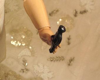 Antique Black Frozen Charlotte Doll