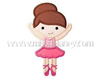 Ballerina2 Applique Design