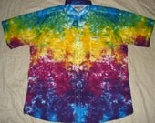 "4575 Mens 2XL ""Rainbow Trout"" Hook & Tackle Men's Gulf Stream Short-Sleeve Fishing Shirt"