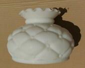 Milk Glass Fenton Lamp Shade