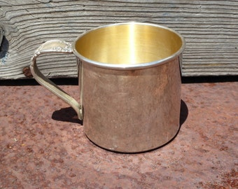 """Community Silverplate Ballad Baby Cup """"Tracy"""", Tracy Silver Plate Cup by Community Ballad Country Lane"""
