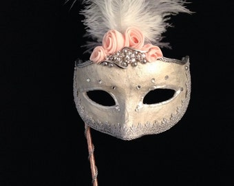Mother of the Bride - Custom Venetian Mask