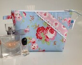 Cath Kidston at IKEA Rosali Fabric Cosmetic Bag Handmade in Scotland