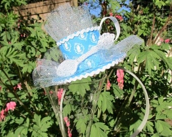 Totally Alice in Wonderland Themed Teacup Headband
