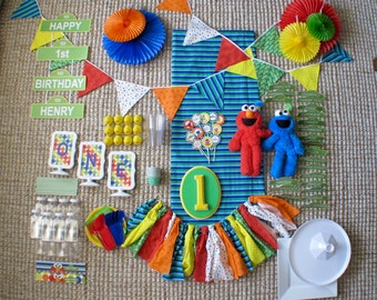 Sesame Street Birthday Party for Rent!