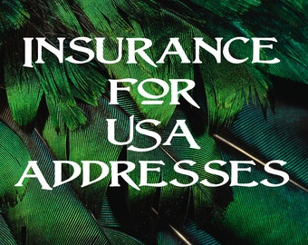 Insurance and Tracking for USA Addresses