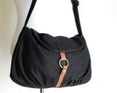 NEW YEAR SALE 30% - Fortuner-S in Black / Centre Zipper Pocket / Purse / Laptop / Shoulder / Messenger Bag / Handbag / Wallet / Diape