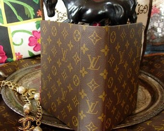 Ultra Rare LOUIS VUITTON Photo ALBUM French Company Produced Desk Suite Accessory Beautiful Gift Executive Luxury Couture