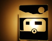 night light caravan nightlight roulotte veilleuse mirror miror