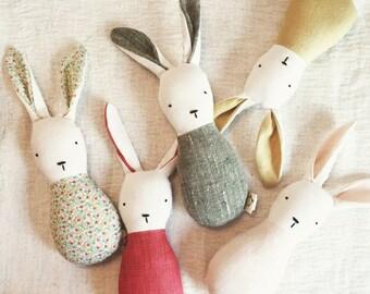 Bunny rattle • lapin hochet