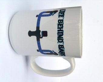Bicycle Mug-Life Behind Bars-Road Bike-Bike Coffee Mug, Cycling Mug, Bike Gift, Cyclist Gift, Road Bike-Available in 2 sizes