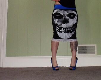Misfits - Marilyn Monroe - Black Pencil Skirt