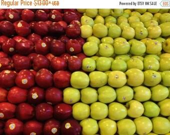20% OFF WINTER SALE Kitchen Decor, Kitchen Art Print, Modern Home Decor, Apple Print, Pile of Apples, Fruit Print, Food Photography