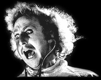 Gene Wilder in Young Frankenstein as Dr. Frederick Frankenstein T Shirt with Free US Shipping