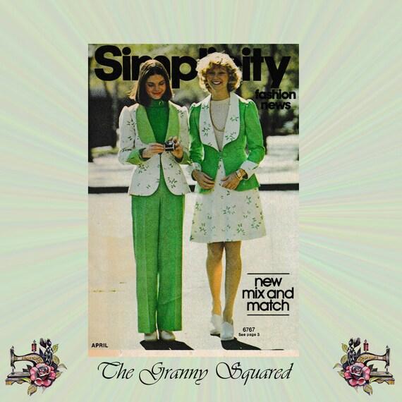 Items similar to Simplicity Fashion News, April 1975, 15 ...