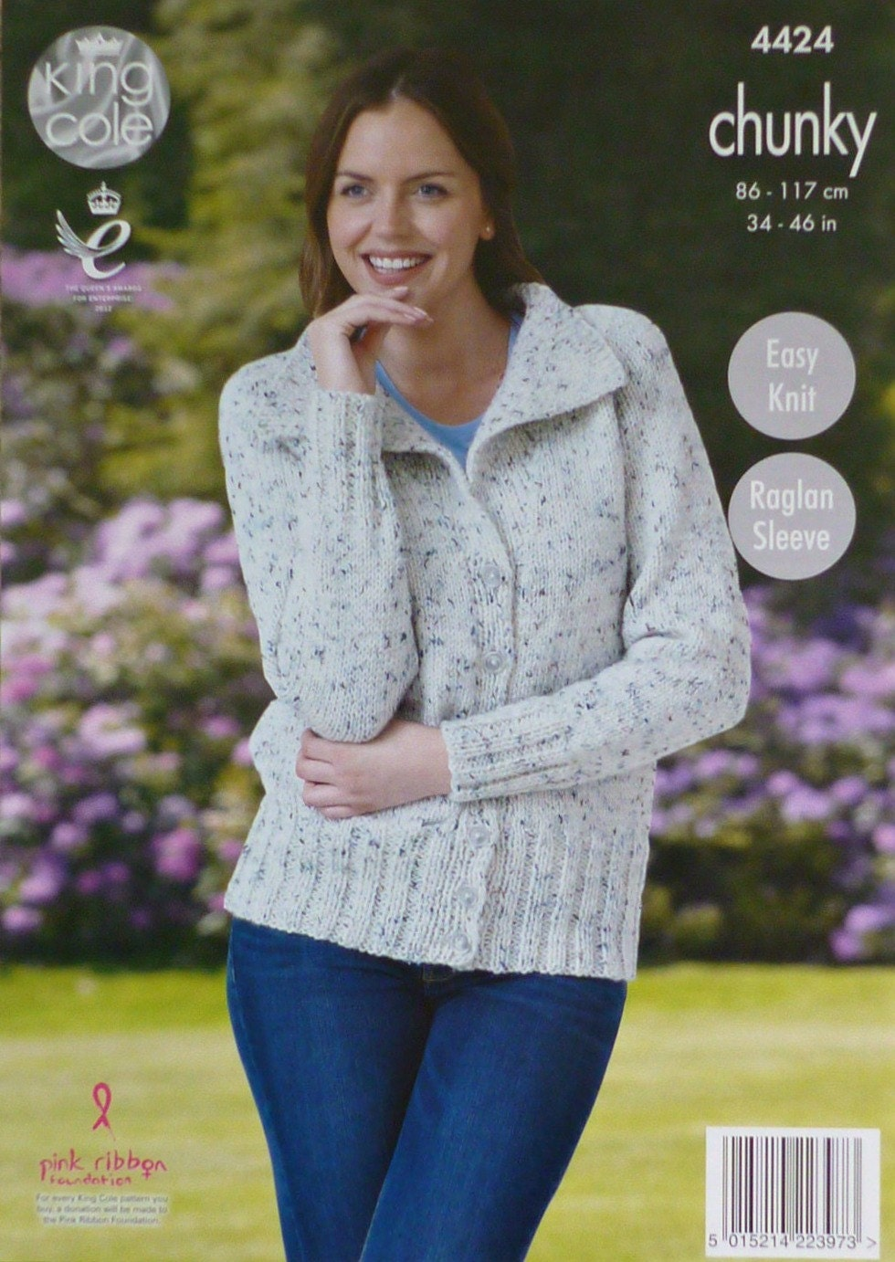 Knitting Pattern Ladies Short Sleeve Jumper : Womens Knitting Pattern K4424 Ladies EASY KNIT Short Sleeve Round Neck Jumper...
